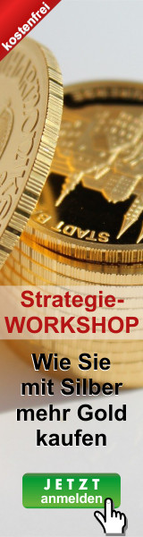 Die Gold-Siber-Ratio Strategie: Wie Sie mit Silber mehr Gold kaufen, und ohne Zusatzinvest Ihr Vermögen vermehren.